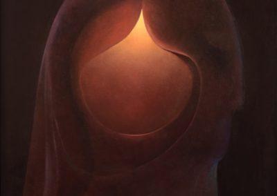 """El profeta, 1969, oil on canvas, 40x30"""""""