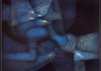 Elegido recuerdo, 1996, oil on canvas, 40x50""