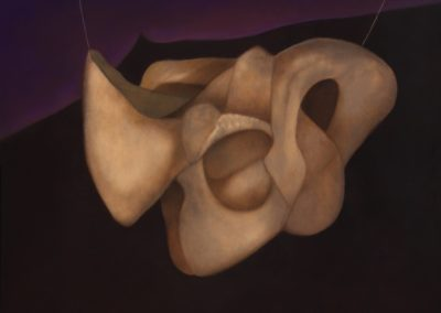 Flor errante, 1998, oil on canvas, 30x40""