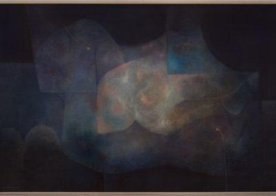 "Lo inefable, 1980, oil on canvas, 24x36"""