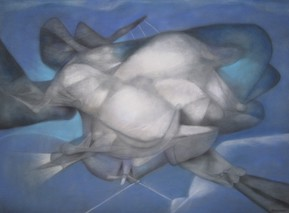 Untitled, 1993, pastel on paper, 30x40""