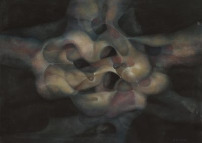 Untitled, 1988, pastel on paper, 22x30""
