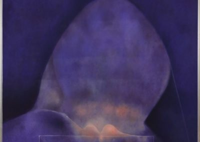 Cabeza, 1978, oil on canvas, 40x50""