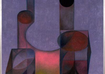 "Doble imagen, 1968, oil on canvas, 40x30"""