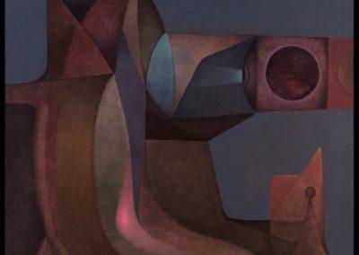"El centinela, 1978, oil on canvas, 40x36"""