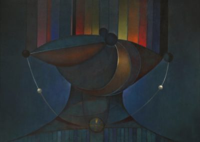 El collar mágico, 1970, oil on canvas, 30x40""