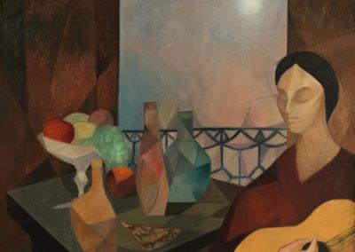 "La gitana, 1965, oil on canvas, 38x33"""