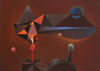 Magnitud estelar, 1972, oil on canvas, 30x40""