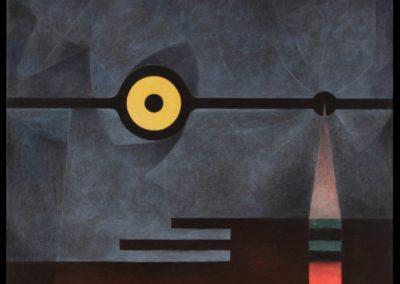 """Midnight, 1974, oil on canvas, 36x40"""""""